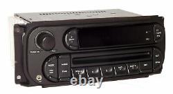 Chrysler Jeep Dodge Car Truck Radio 02-07 AM FM CD Player Aux Input RBK Digital