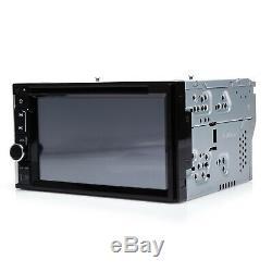 Doble Din 6.2 Car Stereo DVD CD MP3 Player HD In Dash Bluetooth TV Radio+Camera