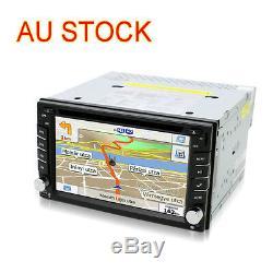 Double 2DIN 6.2'' HD Car Stereo Radio CD DVD MP5 Player FM MP3 GPS NAV Bluetooth