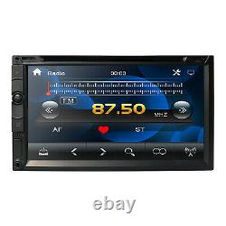 Double 2Din In Dash Sony CD Lens 7Car Stereo Radio CD DVD Player AUX BT TV MP3