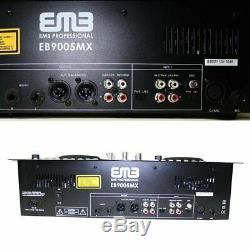 EMB EB9005MX NEW Professional DUAL CD/USB/SD/MP3 Mixer CDJ Scratch Player