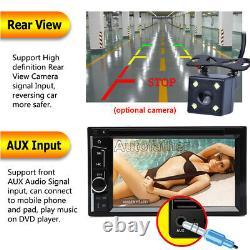For 2009-2012 Dodge Ram 1500 2500 3500 Car Stereo 2 Din FM AM Radio Bluetooth US