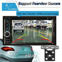 For Chevrolet GMC 6.2'' HD Bluetooth Touch Screen Car Stereo Radio 2 DIN+ Camera