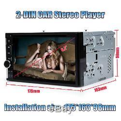 For Chevrolet Silverado 2Din 6.2 Car Stereo DVD Touchscreen HD Player USB Radio