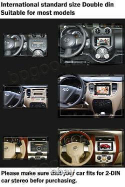 For Chrysl Town & Country 2DIN 6.2 Car Stereo Radio CD DVD Player Bluetooth AM