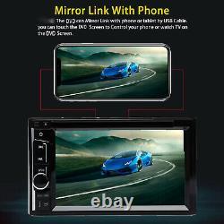For Dodge Ram 1500 2500 3500 6.2'' 2Din CD DVD Player Car Radio Stereo + Camera