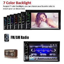For Ford Crown Victoria 2 DIN 6.2 Car Stereo Radio CD DVD Player USB Bluetooth
