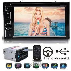 For Ford F-150 F-250 F-350 F-450 Car Stereo 2DIN CD DVD Player Bluetooth Radio