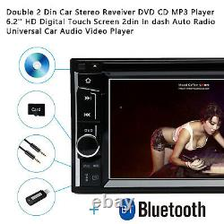 For Ford F-150 Mustang Fusion Camera + Car Stereo CD DVD Player Bluetooth 2 Din