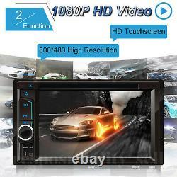 For GMC Yukon Envoy Jimmy C1500 Suburban Car Stereo 2Din CD DVD Radio MP3 Audio