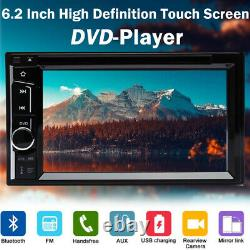 For Hummer H1 H2 H3T 2Din Car Stereo CD DVD Radio HeadUnit Player+Backup Camera