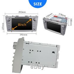 For Toyota Camry 2007 2008 2009 2010 2011 8'' Car DVD CD Player GPS Radio Stereo