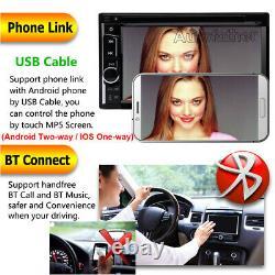 For Toyota Sienna 2000-2016 2Din Stereo Car DVD CD Radio Bluetooth Player TV USB