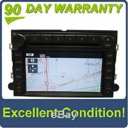 Ford Lincoln OEM Radio GPS Navigation Touch Screen 6 Disc Changer CD Player Navi