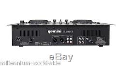 GEMINI CDM-4000 DJ CONSOLE CDJ, TWIN CD, MEDIA PLAYER, USB / Authorized Dealer