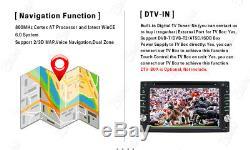 GPS Navigation 2Din HD Car Stereo DVD CD Player Bluetooth Auto Radio In dash Map