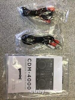 Gemini CDM-4000 2-Channel Dual CD/MP3/USB DJ Media Player Mixer DJ