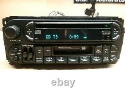Genuine Chrysler Dodge Jeep CD Player Cassette Radio Stereo RAZ P05064042AC