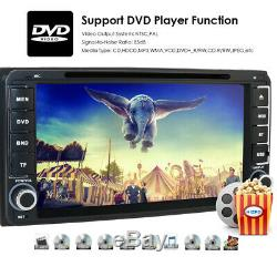 HIZPO 7 HD 2Din GPS Car RDS Radio Stereo CD DVD Player Bluetooth for Toyota+Cam