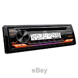 JVC KD-T91MBS Marine MotorSports CD Player USB AUX Bluetooth Stereo Receiver