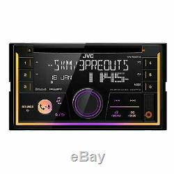 JVC KW-R930BTS 2-Din In-Dash Car Stereo CD Player withBluetooth/USB/iPhone/Sirius