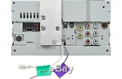 JVC KW-V250BT 2-DIN 6.2 Touchscreen Car Stereo DVD/CD Player Receiver KWV250