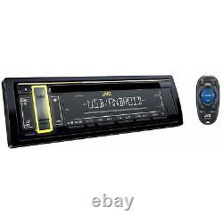 JVC Single DIN AM FM USB AUX CD Player Car Stereo Audio Receiver