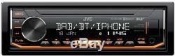 Jvc Kd-X451dbt Dab Car Radio Stereo Mp3 Usb Aux In Player 2019 Model Bluetooth