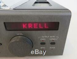 KRELL KPS 25s PRE AMPLIFIER/DAC (CD PLAYER FAULTY) WORLDWIDE SHIPPING