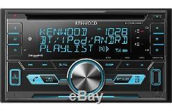 Kenwood 2-DIN Car Stereo CD Receiver Player with Bluetooth USB AUX DPX503BT