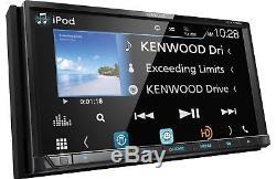 Kenwood DDX775BH DVD/CD Player Android iPhone Pandora Bluetooth HD Radio WebLink