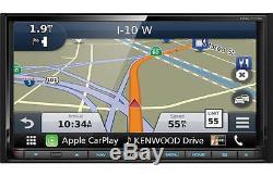 Kenwood DNX773S DVD/CD Player 6.95 Touchscreen Navigation HD Radio Bluetooth