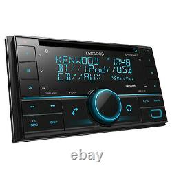 Kenwood DPX504BT 2DIN CD Player Bluetooth USB AUX AM/FM Stereo Radio Receiver
