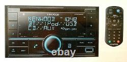 Kenwood DPX524BT Double 2 DIN CD Player BLUETOOTH-REMOTE