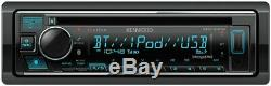 Kenwood Excelon KDC-X304 Car Stereo CD Receiver Player with Bluetooth