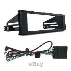 Kenwood KDC CD Player USB Radio Receiver, Harley 1-DIN Stereo Kit Fits 1998-2013