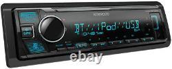 Kenwood KMM-BT328 MP3/USB/AM/FM NO CD Media Player Bluetooth 2DAY FEDEX