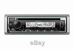 Kenwood KMR-D375BT Marine Boat CD/WMA/MP3 Player Bluetooth Pandora iHeart Radio