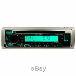 Kenwood KMR-D378BT Marine Boat CD/WMA/MP3 Player Bluetooth Pandora iHeart Radio