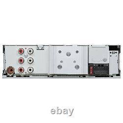 Kenwood Single DIN AM/FM USB AUX CD Player Vehicle Car Audio Receiver System