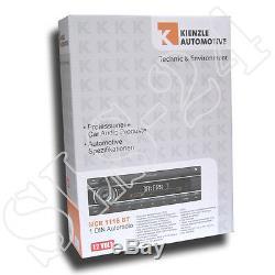Kienzle- MCR-1116 BT Autoradio USB AUX Bluetooth FSE ext. Mikro ohne CD Player