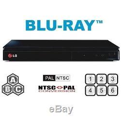 LG Zone A B C Region 1 2 3 4 5 6 0 Blu Ray DVD Player
