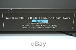MUSICAL FIDELITY Lector High End CD-Player Guter Zustand