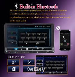 Map+Camera+GPS Nav 7Double 2Din Car Stereo Radio DVD CD SD Mp3 Player Bluetooth