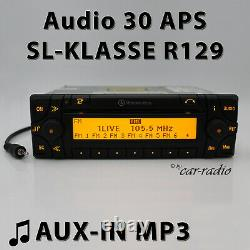 Mercedes Audio 30 APS AUX-IN R129 Navigationssystem W129 CD Radio SL-Klasse Navi