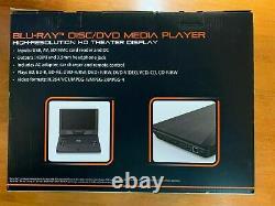 NEW BLACKWEB PORTABLE BLU-RAY DVD PLAYER HD 11.4 SCREEN With HDMI USB & CARD SLOT