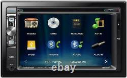 NEW DUAL XDVD276BT 2 Din CD DVD Player Receiver USB AUX Bluetooth Camera Input