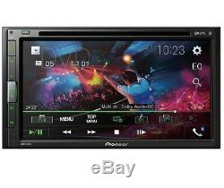 NEW Pioneer AVH-310EX Double 2 Din 6.8 Touchscreen Bluetooth DVD/MP3/CD Player