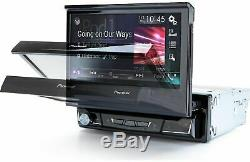NEW Pioneer AVH-3500NEX DVD/CD Player Flip Up Bluetooth Android Auto CarPlay