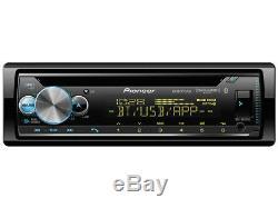 NEW Pioneer DEH-S6100BS Single DIN CD MP3 Player Bluetooth MIXTRAX SiriusXM USB